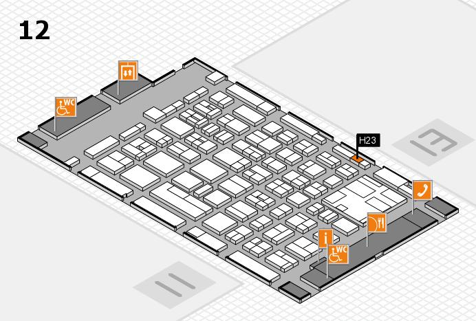 boot 2017 Hallenplan (Halle 12): Stand H23