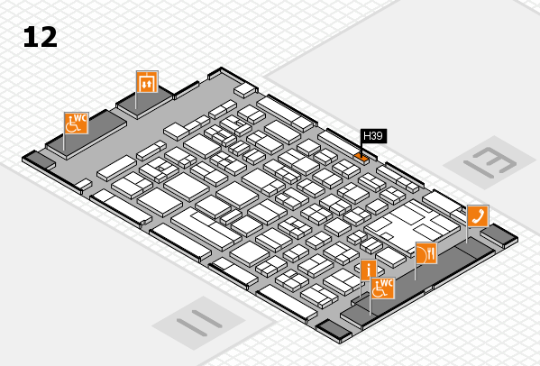 boot 2017 hall map (Hall 12): stand H39