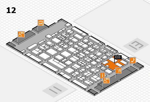 boot 2017 hall map (Hall 12): stand E03