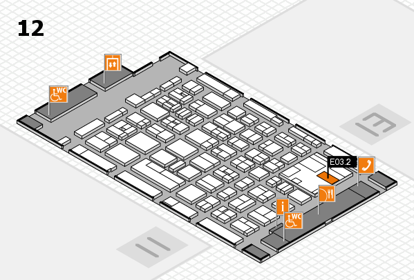 boot 2017 hall map (Hall 12): stand E03.2