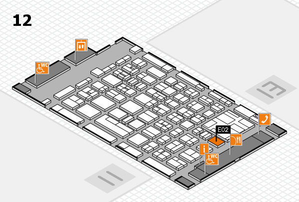 boot 2017 hall map (Hall 12): stand E02
