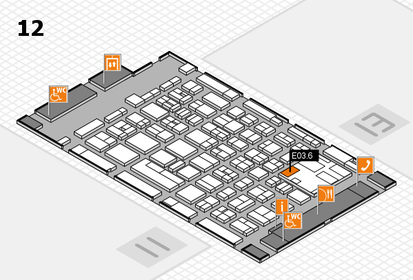 boot 2017 hall map (Hall 12): stand E03.6