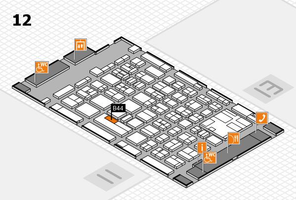 boot 2017 hall map (Hall 12): stand B44