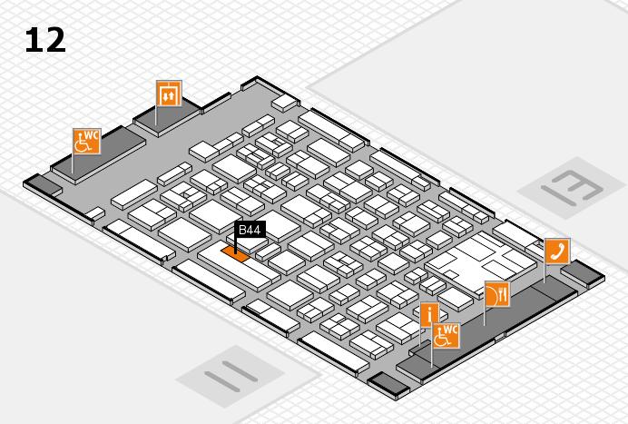 boot 2017 Hallenplan (Halle 12): Stand B44