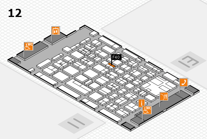 boot 2017 hall map (Hall 12): stand F40