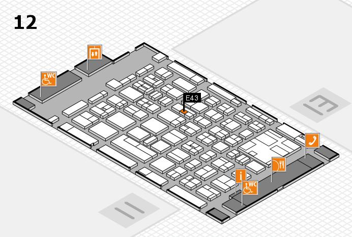boot 2017 Hallenplan (Halle 12): Stand E43