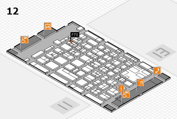 boot 2017 Hallenplan (Halle 12): Stand F70