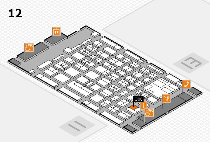 boot 2017 hall map (Hall 12): stand C08