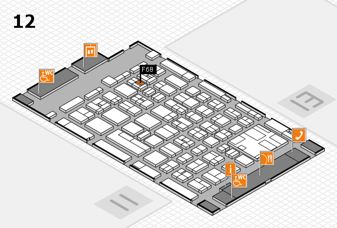 boot 2017 hall map (Hall 12): stand F68