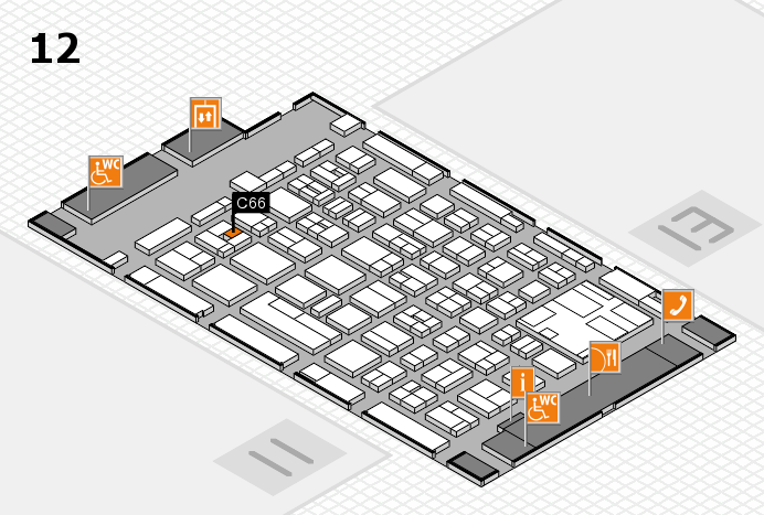 boot 2017 Hallenplan (Halle 12): Stand C66