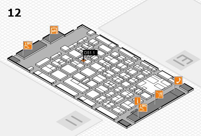 boot 2017 hall map (Hall 12): stand D51.1