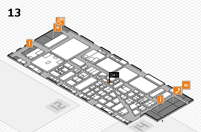 boot 2017 Hallenplan (Halle 13): Stand D41