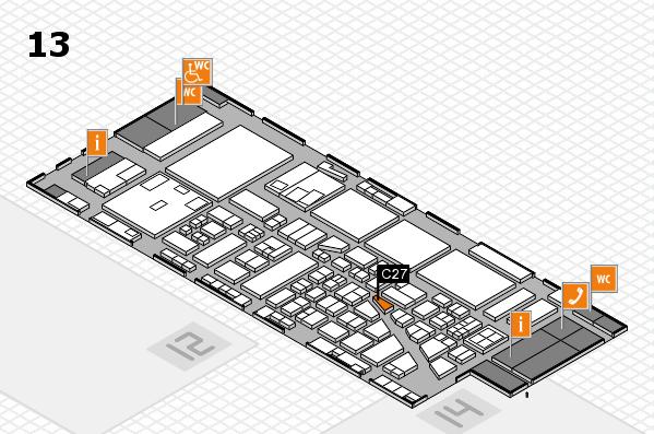 boot 2017 hall map (Hall 13): stand C27