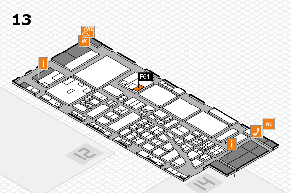 boot 2017 hall map (Hall 13): stand F61