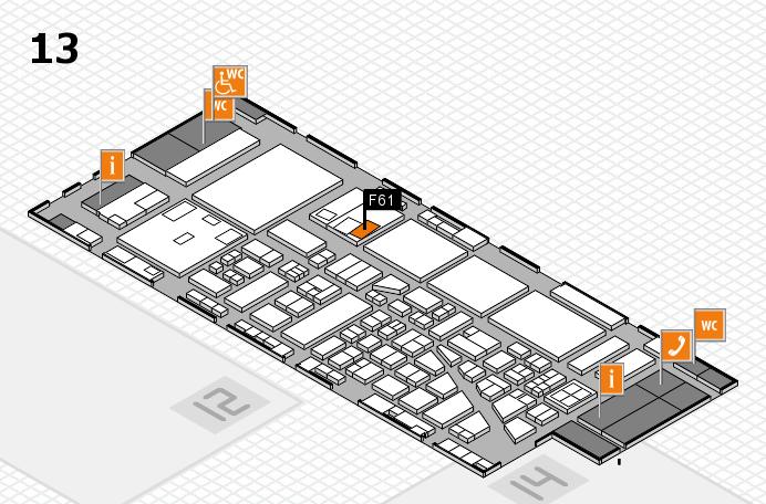 boot 2017 hall map (Hall 13): stand F61