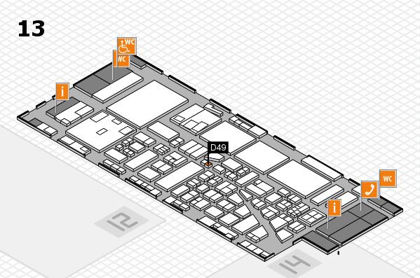 boot 2017 hall map (Hall 13): stand D49
