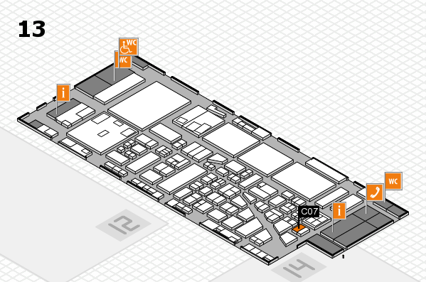 boot 2017 hall map (Hall 13): stand C07