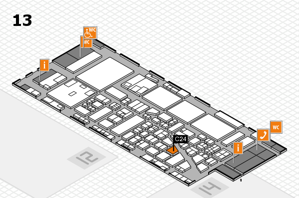 boot 2017 hall map (Hall 13): stand C24