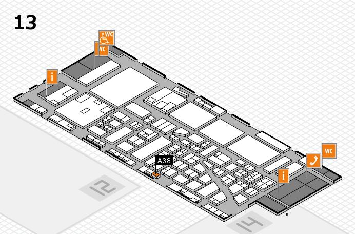 boot 2017 Hallenplan (Halle 13): Stand A38