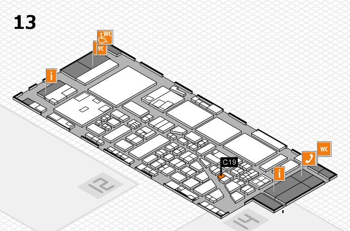 boot 2017 hall map (Hall 13): stand C19