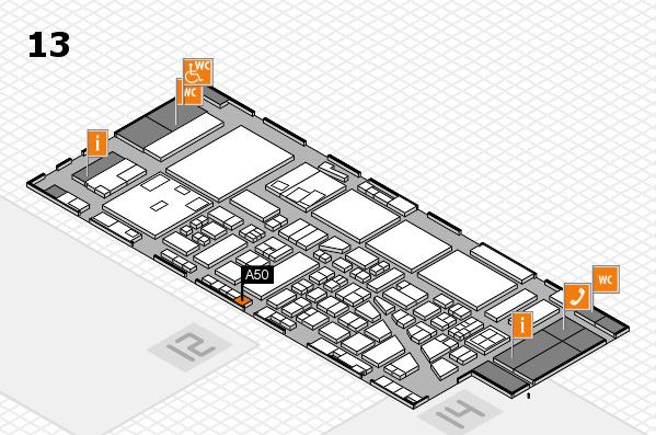 boot 2017 hall map (Hall 13): stand A50
