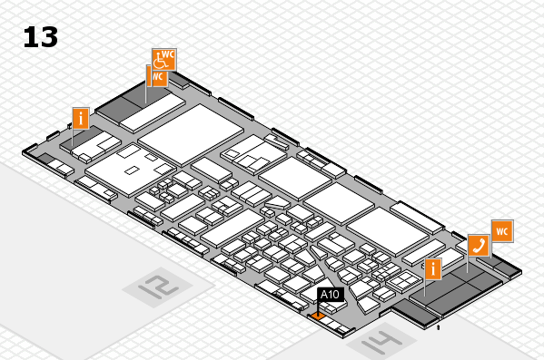 boot 2017 hall map (Hall 13): stand A10