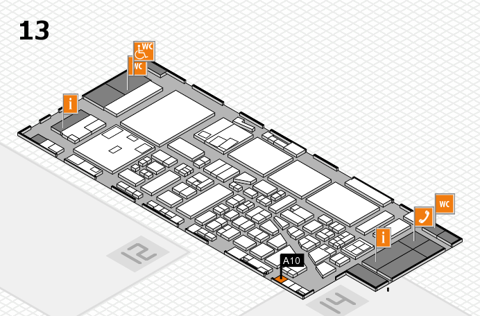 boot 2017 Hallenplan (Halle 13): Stand A10