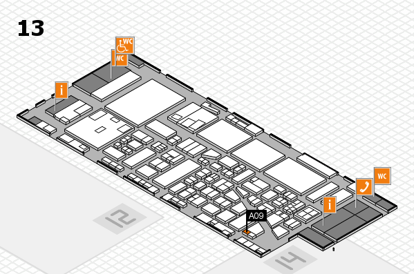 boot 2017 hall map (Hall 13): stand A09