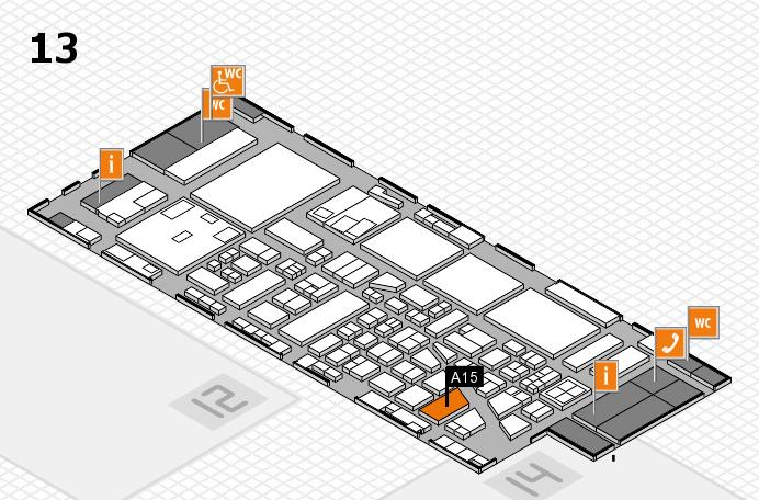 boot 2017 Hallenplan (Halle 13): Stand A15