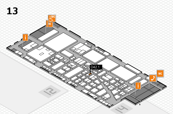 boot 2017 Hallenplan (Halle 13): Stand D42.1