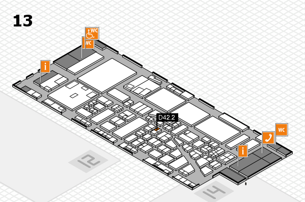 boot 2017 hall map (Hall 13): stand D42.2