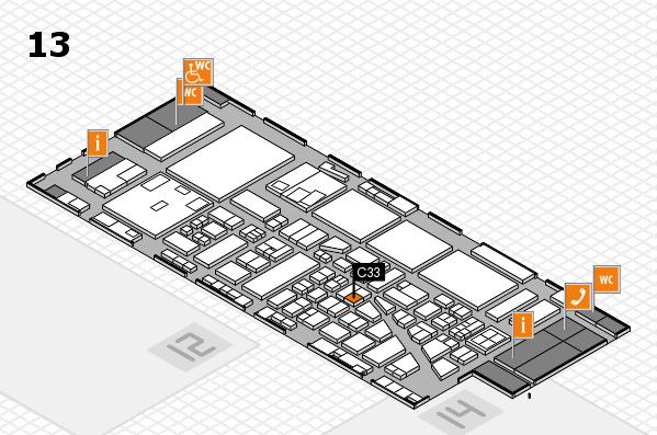 boot 2017 hall map (Hall 13): stand C33
