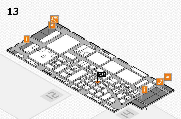boot 2017 hall map (Hall 13): stand C33