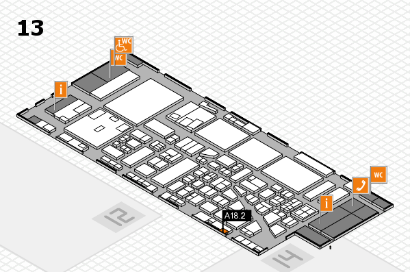 boot 2017 hall map (Hall 13): stand A18.2
