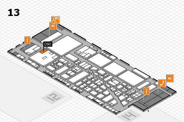 boot 2017 hall map (Hall 13): stand D90