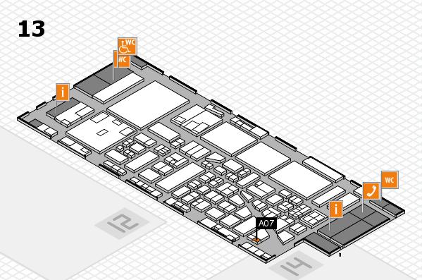 boot 2017 hall map (Hall 13): stand A07