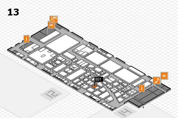 boot 2017 hall map (Hall 13): stand B31