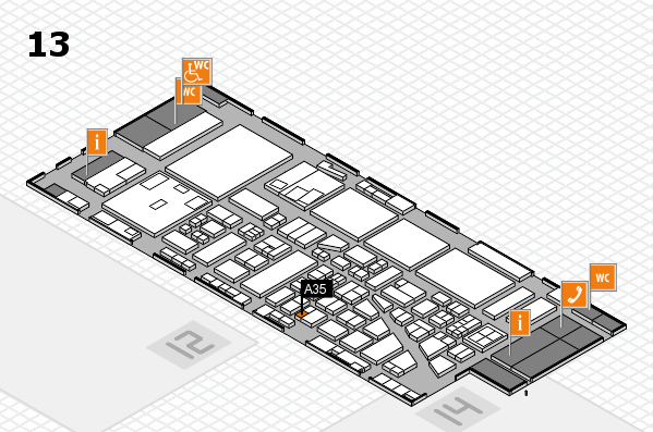 boot 2017 hall map (Hall 13): stand A35
