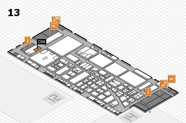 boot 2017 hall map (Hall 13): stand D98