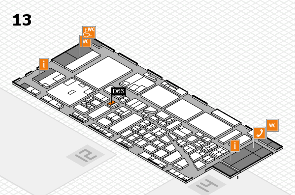 boot 2017 hall map (Hall 13): stand D66