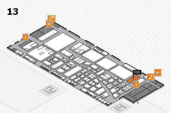 boot 2017 hall map (Hall 13): stand F09