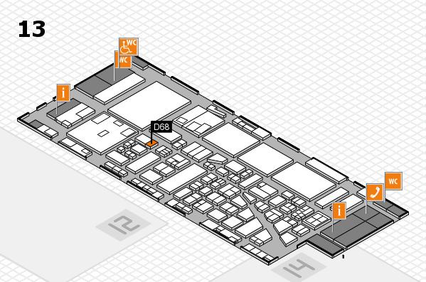 boot 2017 hall map (Hall 13): stand D68