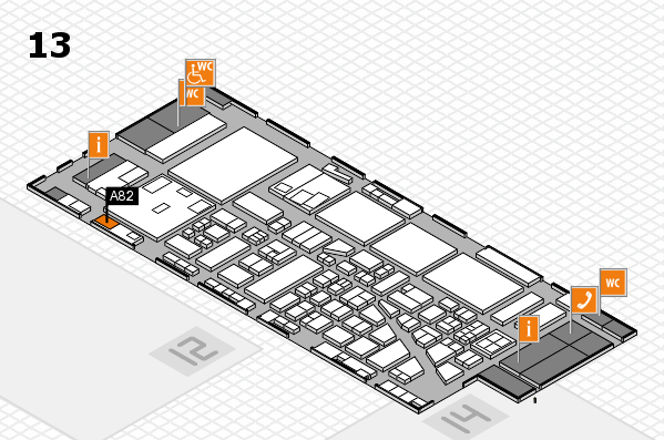 boot 2017 hall map (Hall 13): stand A82