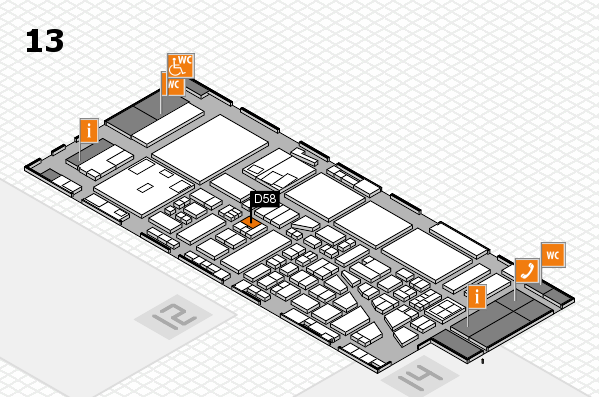 boot 2017 hall map (Hall 13): stand D58