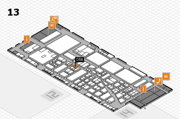boot 2017 hall map (Hall 13): stand D58