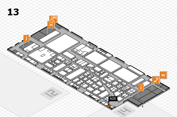 boot 2017 hall map (Hall 13): stand A06
