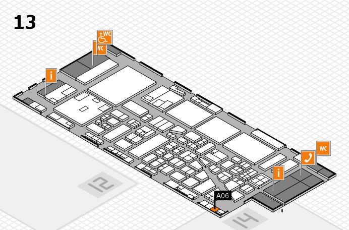 boot 2017 hall map (Hall 13): stand A06