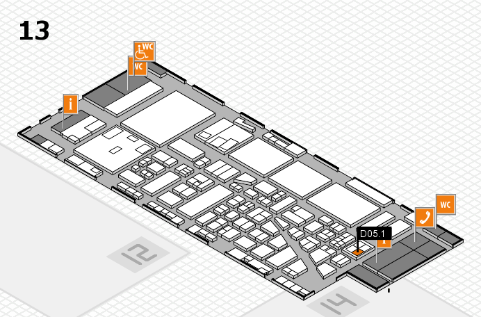 boot 2017 hall map (Hall 13): stand D05.1