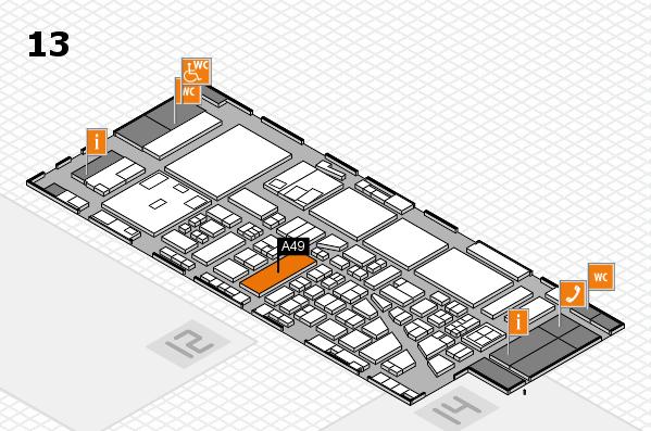 boot 2017 hall map (Hall 13): stand A49