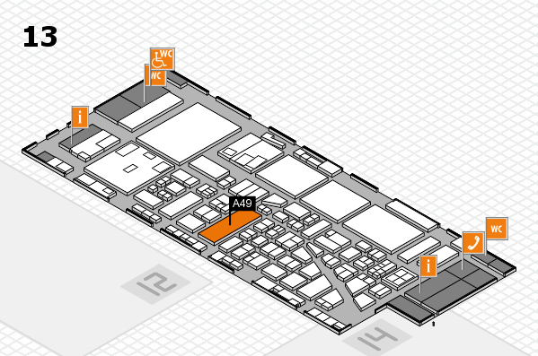 boot 2017 hall map (Hall 13): stand A49